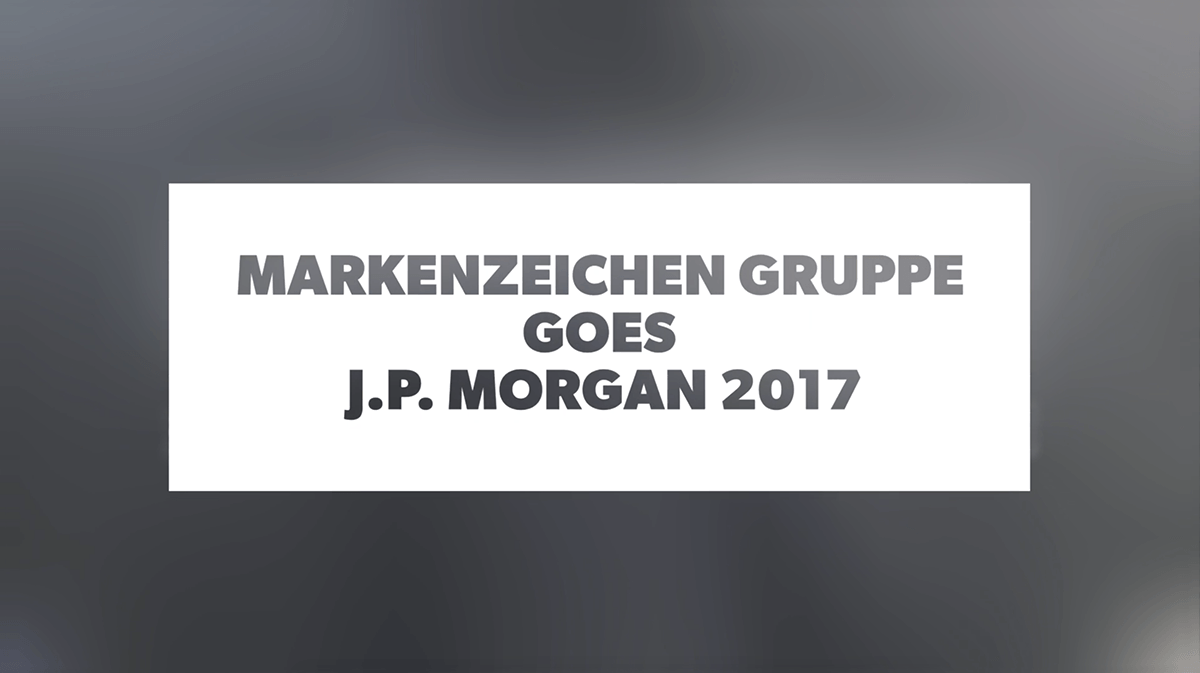 markenzeichen gruppe goes J.P.Morgan Corporate Challenge 2017