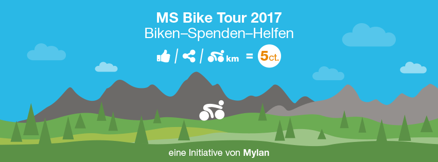 Biken, Spenden, Helfen